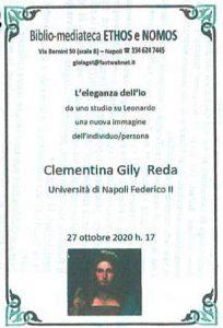 CLEMENTINA GILY REDA – L'eleganza dell'Io