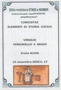 ENNIO ALOJA – Virgilio verginiello e mago