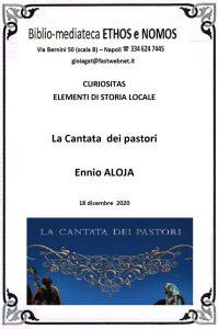 ENNIO ALOJA – La Cantata dei pastori
