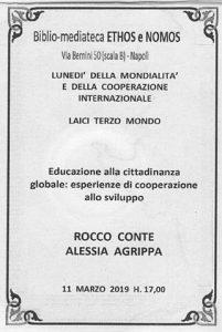 ROCCO CONTE – ALESSIA AGRIPPA –  Educazione alla cittadinanza globale: esperienze di cooperazione allo sviluppo