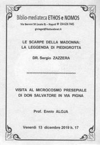 ENNIO ALOJA – Visita al microcosmo presepiale di don Salvatore in via Pigna