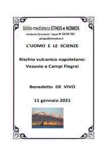 BENEDETTO DE VIVO – Rischio vulcanico napoletano: Vesuvio e Campi Flegrei