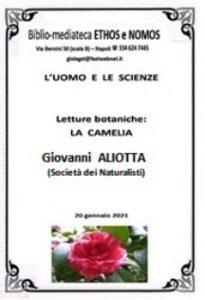 GIOVANNI ALIOTTA – Letture botaniche: Camelia (SOCIETA' DEI NATURALISTI)